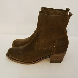 Rag & Bone Mercer II Suede Ankle Boot